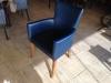 2. el satılık deri sandalyeler, berjerler, masalar