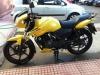 2012 apachi sarı motosiklet