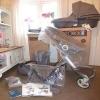 2014 v4 stokke xplory bebek taşıma sepeti +araba koltuğu ile