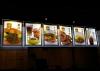 6 m led ışıklı menü tabelası