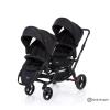Abc design zoom black-ikiz bebek arabası(sıfır kutusunda)