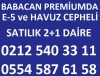 Babacan premiumda kelepir 1+1 0554 587 6158
