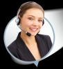 Bayan müşteri temsilcisi elemanı