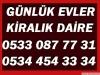 Beşiktaş da günlük kiralık eşyalı evler günlük house