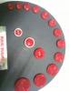 Çıtçıt kumaş baskı düğme