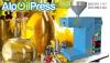 Çörekotu yağı makinası aop125 junior 5-8kg saat