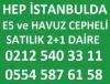 Hep istanbulda satılık daire 0554 587 6158
