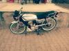 Küba çita beyaz 2015 model motosiklet
