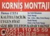 Pendik maltepe kartal tuzla korniş montajı 0551 110 45 59