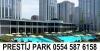 Prestij park evlerinde satılık 1+1 daire 280000 tl