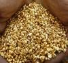 Saf altın nuggets, afrika dan altın külçeleri
