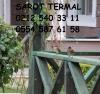 Sarot termalde kiralık 20-27 ocak sömestre