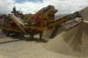 Satılık taş kırma & eleme makinası