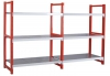 Sencer raf sistemleri çelik raf depo raf palet raf