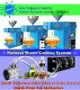 Su soğutmalı çörekotu yağı makinası aop125 junior 5-8kg saat