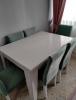 Tertemiz modalife bianco yemek masası