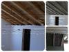 Yeni çatı izolasyonu köpük uygulaması sprey köpük çatı ısı y