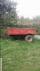 Traktör römorku