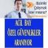 Yenidoğan-sarıgazi site 1560+agi+ymk bay özel güvenlik